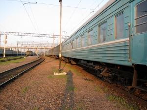 The LONG train to Shymkent