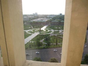 Nice view of central Tashkent.