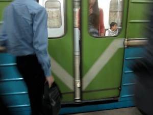 Loved the old skool Soviet subway!
