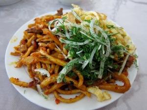 A wonderful dish of lagman.