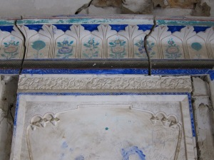 Got foundation problems? Details of the faded and cracked frescoes.