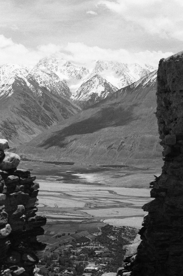 The commanding view of the Wakhan Valley and Afghanistan
