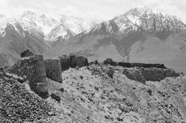 The breathtaking and very old (1-3rd Centuries BC) Yamchun Fortress