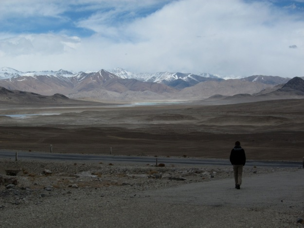 Reaching the Pamir Highway from the Wakhan Valley