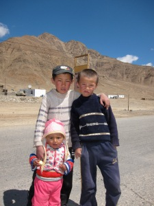 The welcoming committee to Murghab