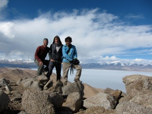 Myself, Sjoerd, and Takayuki at the top.