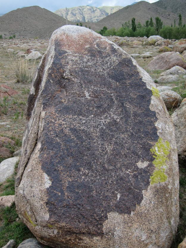 A much younger ibex petroglyph.