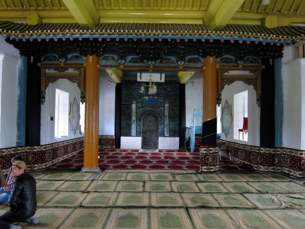 Interior of Chinese Mosque